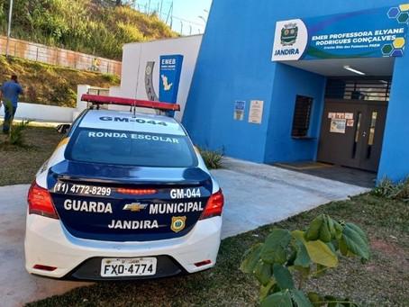 Jandira: Guarda Civil apresenta Programa ESCOLCRIM
