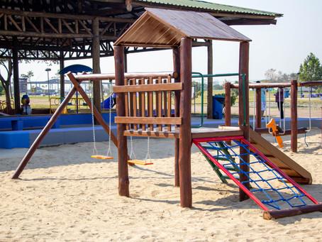 Carapicuíba: Parque Gabriel Chucre ganha novo playground