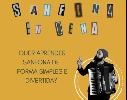 Cotia: Projeto Sanfona (En)Cena realiza oficina para iniciantes com oito aulas gratuitas