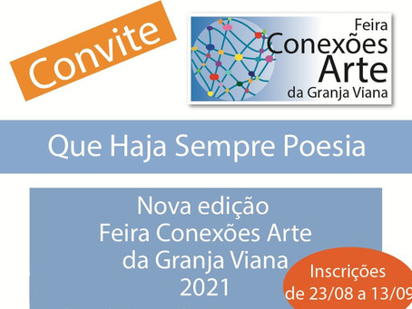 Artistas: Inscrições abertas para a Feira Conexões Arte da Granja Viana