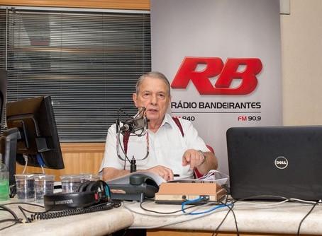 Morre José Paulo de Andrade, da Rádio Bandeirantes