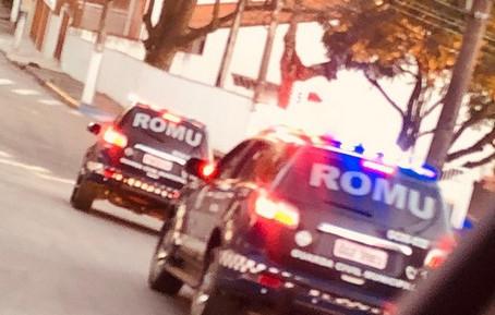Três indivíduos são presos pela Romu após furtar empresa no km 30
