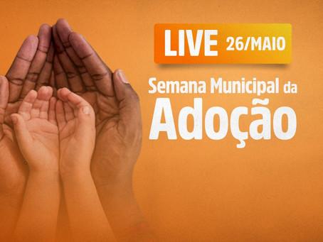 Embu das Artes: Semana Municipal da Adoção debate o tema em palestra virtual
