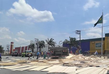 Raposo Tavares: Acidente no km 21 deixa uma vítima grave