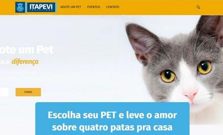 Itapevi lança site pra adoção de pets