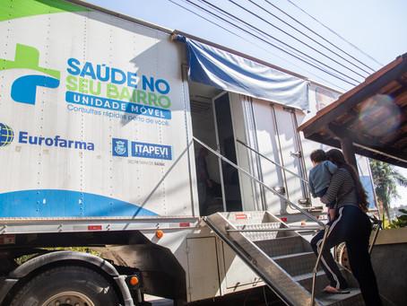 Itapevi: Carreta da Saúde atende na Cruz Grande até dia 01/10
