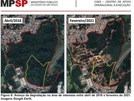 Cotia: Liminar da Justiça determina desocupação do Parque das Nascentes