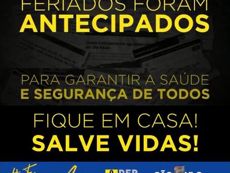 DER realiza campanha para motoristas não pegarem estrada em SP