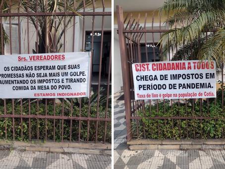 Cotia: Câmara de Vereadores aprova taxa do lixo