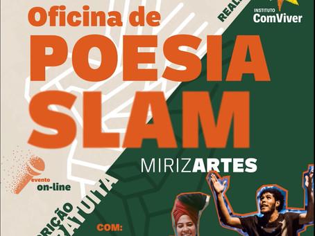 Cotia: Resistência, união, empoderamento: inscrições abertas para oficina de Poesia Slam