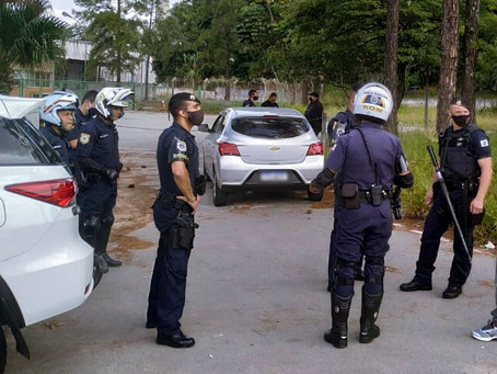 Jandira: GCM resgata vítima de sequestro relâmpago