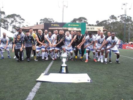 Seleção de Jandira é campeã da Copa do Brasil de Futebol 7