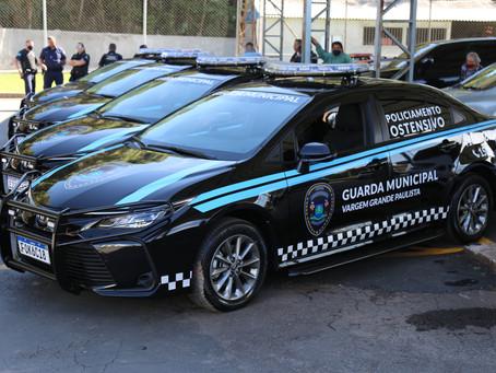 VGP: Guarda Municipal recebe seis novas viaturas