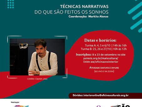 Cotia: Abertas as inscrições para workshop, palestras e oficinas gratuitas