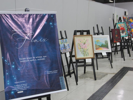 Barueri: Ganha Tempo recebe exposição de artes visuais de autores da Grande SP