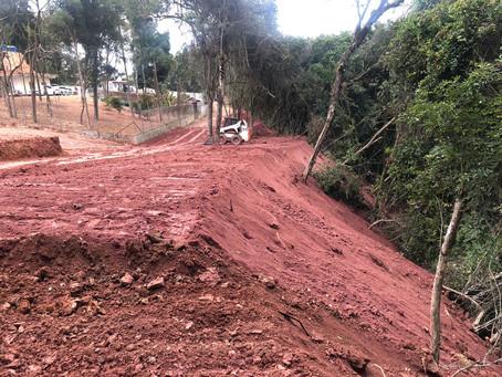 Polícia Ambiental flagra novo descumprimento de embargo em Embu das Artes