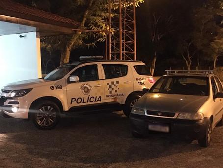 Polícia Rodoviária apreende veículo produto de estelionato