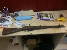 Mosin Nagant, 91/30, m44, type 53, gun restoration, firearms, 7.62 x 54R