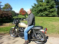 motorcycle touring, coast to coast, triumph, bonneville, maintenance, touring