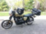 Triumph, Bonneville, coast to coast, motorcycle maintenance, Ninja 500, first bike