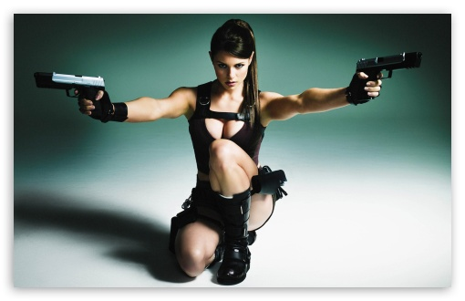 Lara Croft TV and World Tour