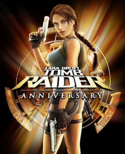 Tombraider Anniversary Advert