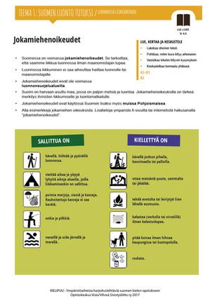 SL 4.8 Jokamiehenoikeudet
