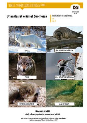 SL 3.4 Uhanalaiset eläimet Suomessa