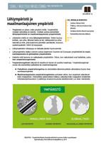 MY 1.6 Lähiympäristö ja maailmanlaajuinen ympäristö