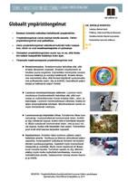 MY 3.9 Globaalit ympäristöongelmat