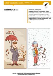 SL 1.6 Vuodenajat ja sää