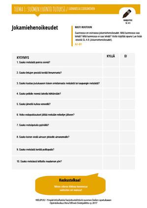 SL 4.5 Jokamiehenoikeudet