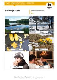 SL 1.1. Vuodenajat ja sää