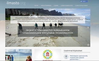 Nettivinkki: Ilmasto.org
