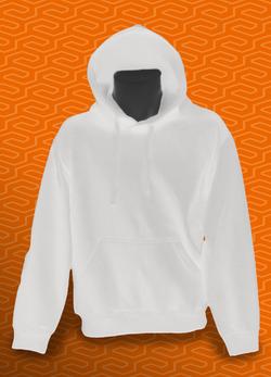Homme hoodie blanc