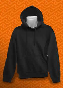 Homme hoodie noir
