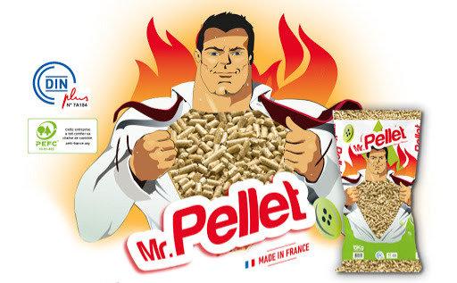 Pellet Din+ Supérieur Mr PELLET par 15 sacs de 15kg