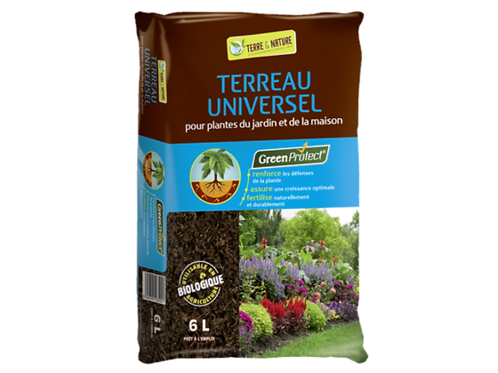 TERREAU UNIVERSEL GREENPROTECT 50L   / T2265582