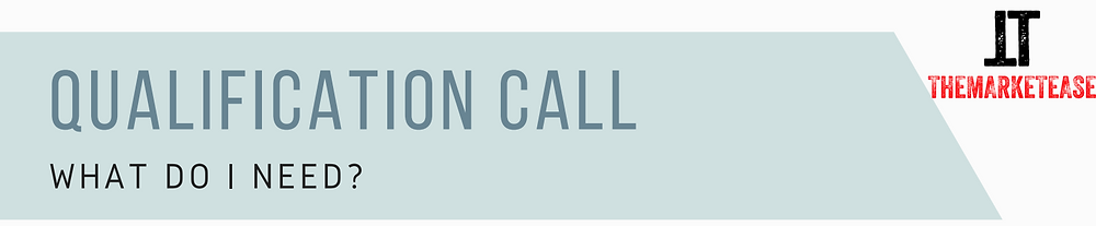 Sales Qualifications Call Template