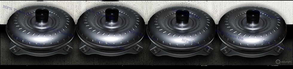 Remanufactured torque converters