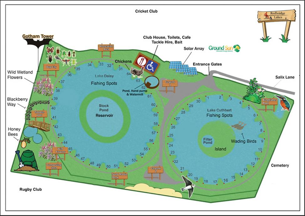 Redbridge Lakes Overview