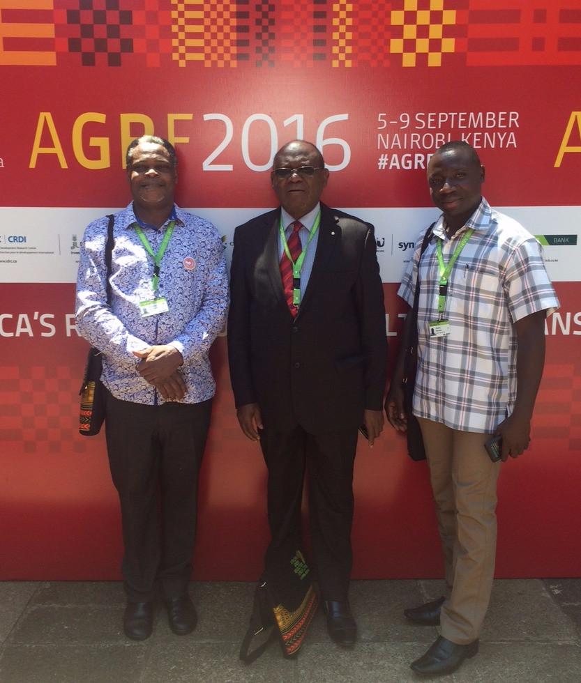 (from left; Dr. Mwalimu Musheshe, Dr. Joseph Mukiibi, Charles Kisembo Goodyear)