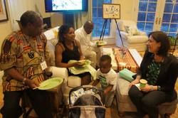 Musheshe's Family at the Open House