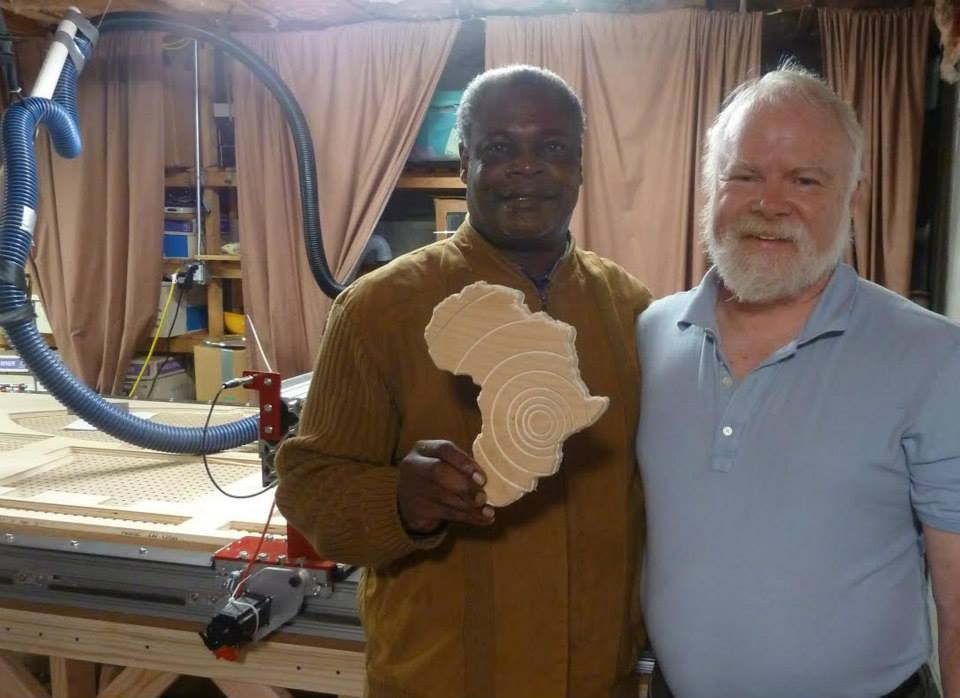 Musheshe & Mr. Carmichael's Workshop