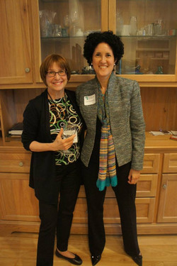 Susan and Layli at the Open House