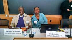 Co-panelists at Harvard Conference