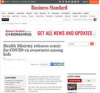 Health Ministry releases comic for COVID-19 awareness among kids