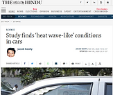 Study finds 'heat wave-like' conditions in cars