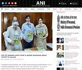 Anil Vij releases comic book to spread awareness about COVID-19 vaccine