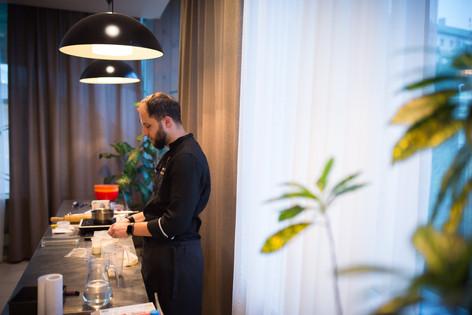 Мастер-класс повара, кондитера и блоггера Андрея Рудькова |  Фабрика